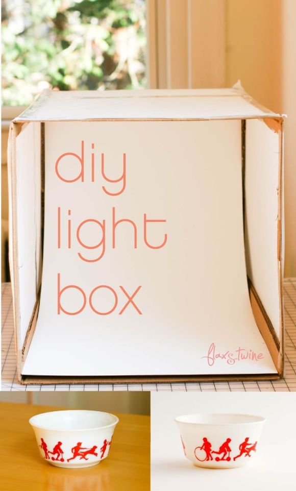 DIY Light Box, Our Favorite Tips and Tricks from Pinterest @WeShopGab