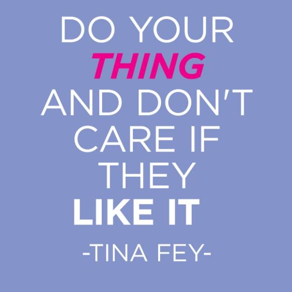Tina Fey @WeShopGab