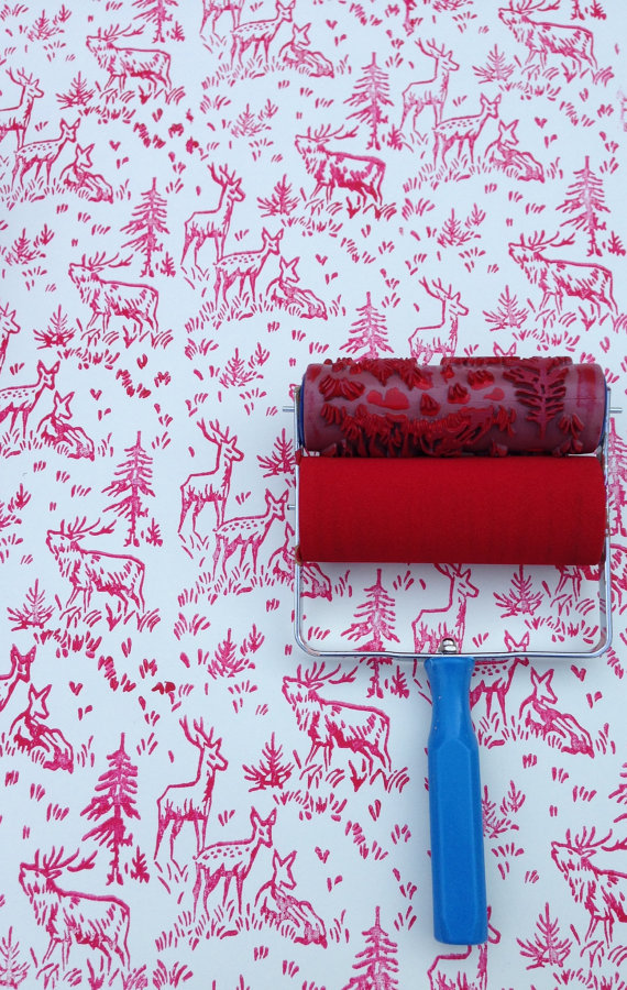 NotWallpaper Patterned Paint Roller, Find the Perfect Gift for Everyone Part II @WeShopGab