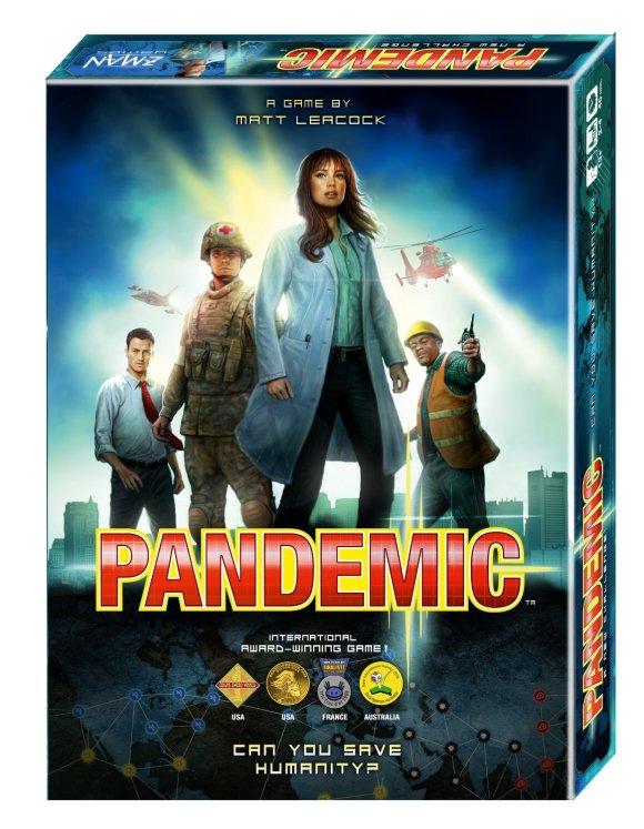 Pandemic, Game Night! @WeShopGab