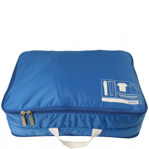 F1 Spacepak Clothes Blue, Pack the Ideal Travel Bag @WeShopGab