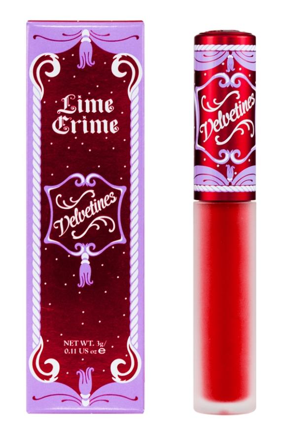 Red Velvet Velvetine, Lime Crime @WeShopGab