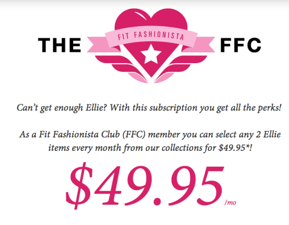 Fit Fashionista Club, Our Favorite Subscription Box Services @WeShopGab