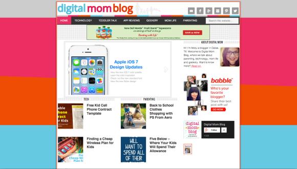 Digital Mom Blog, ShopGab Loves @WeShopGab