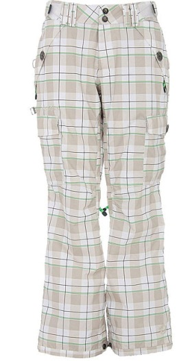 Overstock, Sessions Plaid Snowboard Pants, $87.99